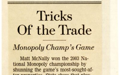 Tricks Of the Trade – Monopoly Champ's Game