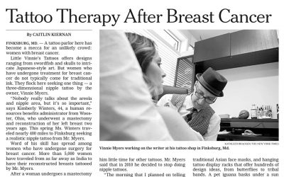 Tattoo Therapy After Breast Cancer (article)
