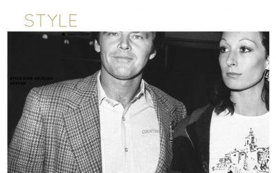 Style Icon: Anjelica Huston
