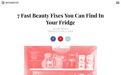Beauty Fixes from Your Fridge